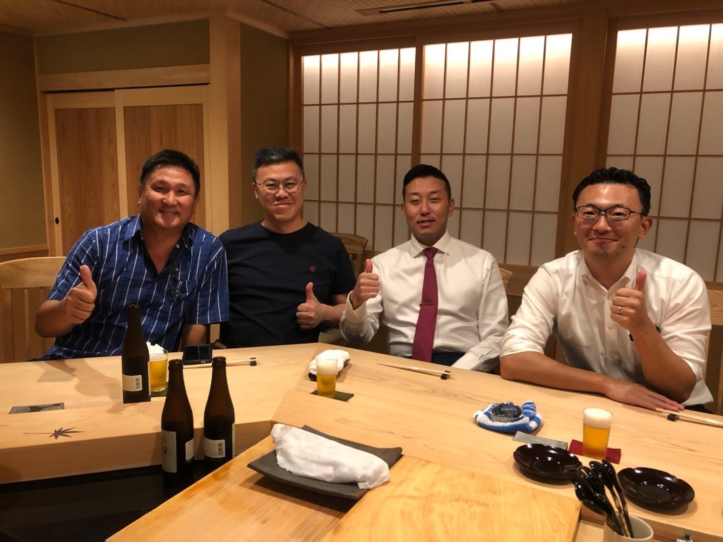 マレーシアのお客様と株式会社ENG