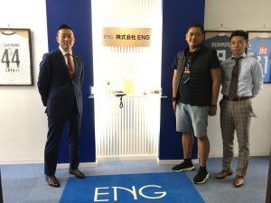 ENGのマレーシアのお客様来日