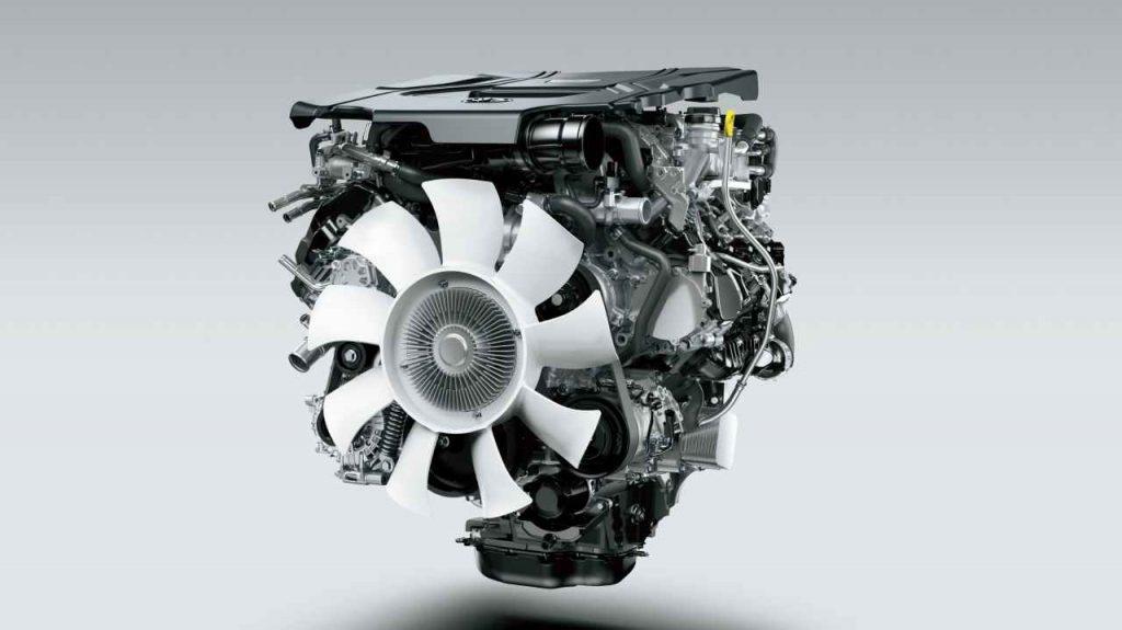 V6 ディーゼル ツインターボエンジン