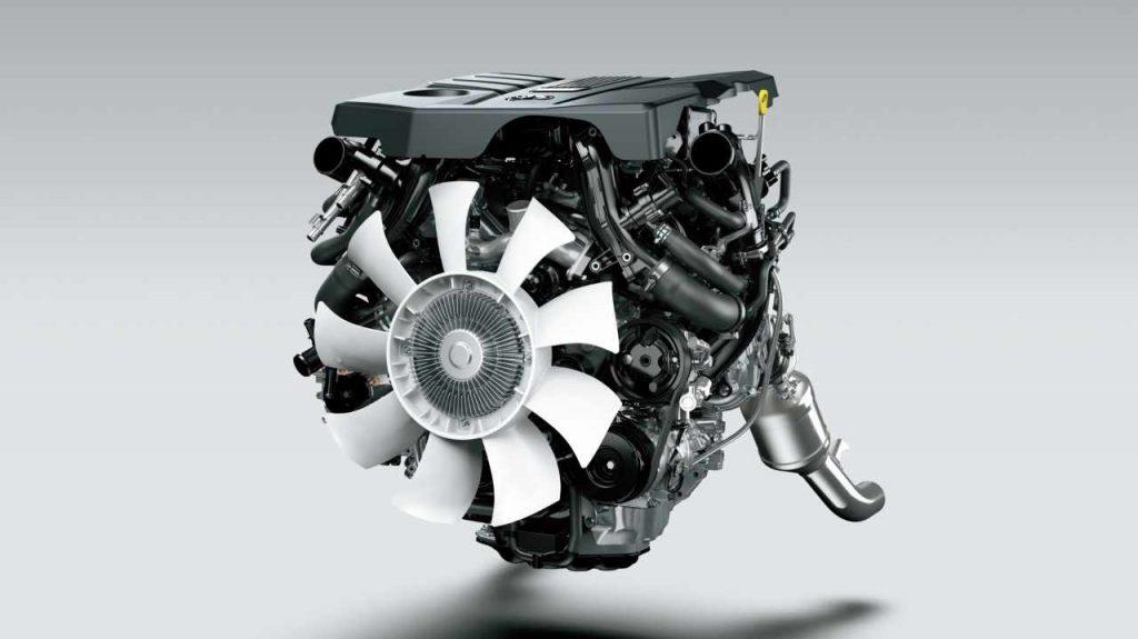V6ガソリン ツインターボエンジン